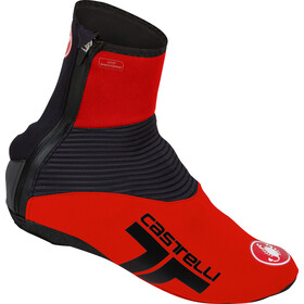 Castelli Narcisista 2 Shoe Covers, red/black